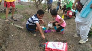 Seeds Plantation on Hanuman Tekadi - 3