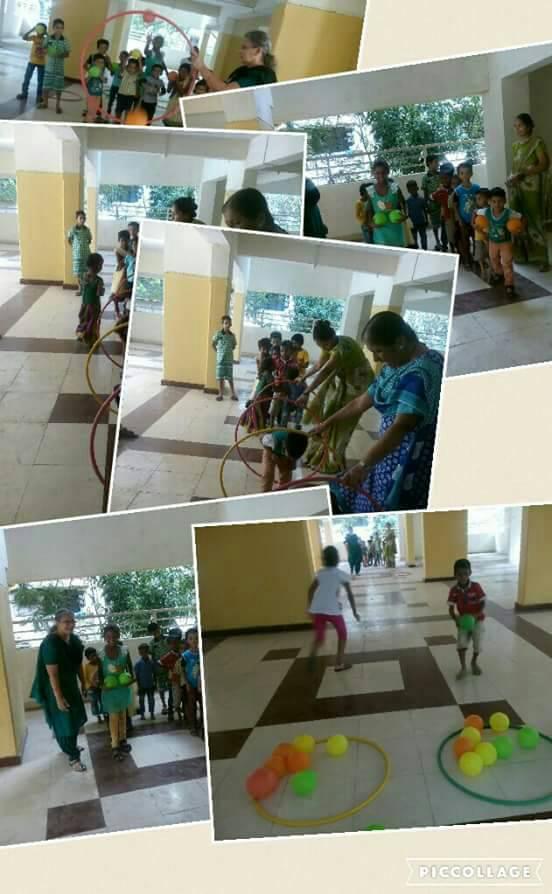 ई-लर्निंग पी. जी. वैद्य मराठी शाळेत विविध कार्यक्रम